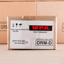 9MM LUGER WOLF POLYFORMANCE SPAM CAN) 115 GRAIN FMJ (800 ROUNDS)