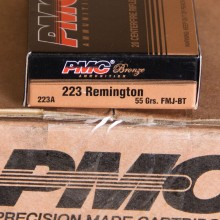 .223 REMINGTON PMC BRONZE 55 GRAIN FMJ (20 ROUNDS)