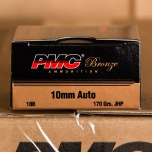 10MM PMC BRONZE 170 GRAIN JHP (25 ROUNDS)