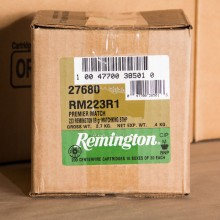 .223 REMINGTON SIERRA MATCHKING PREMIER MATCH 69 GRAIN BTHP (200 ROUNDS)