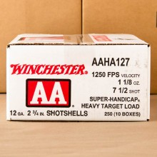 "12 GAUGE 2 3/4"" WINCHESTER AA SUPER-HANDICAP #7-1/2 (250 ROUNDS)"