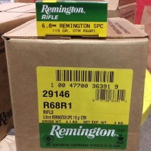 6.8 REMINGTON SPC REMINGTON EXPRESS 115 GRAIN OTM (20 ROUNDS)