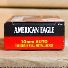 10MM AUTO FEDERAL AMERICAN EAGLE 180 GRAIN FMJ (50 ROUNDS)