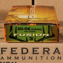 .30-06 SPRINGFIELD FEDERAL FUSION 150 GRAIN SP (20 ROUNDS)