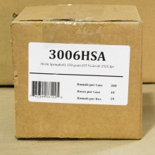 .30-06 SPRINGFIELD FIOCCHI EXTREMA HUNTING 150 GRAIN SST (200 ROUNDS)