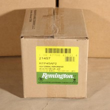 .45 ACP REMINGTON HTP 185 GRAIN JHP (500 ROUNDS)