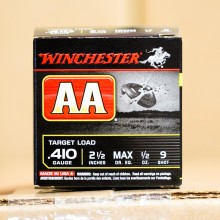 "410 GAUGE WINCHESTER AA 2-1/2"" #9 SHOT (25 ROUNDS)"