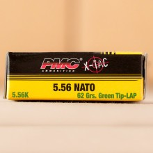 5.56x45MM PMC X-TAC GREEN TIP M855 NATO 62 GRAIN FULL METAL JACKET (1000 ROUNDS)
