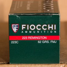 .223 REMINGTON FIOCCHI SHOOTING DYNAMICS 62 GRAIN FMJ-BT (50 ROUNDS)