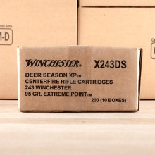243 WIN WINCHESTER DEER SEASON XP 95 GRAIN PT (20 ROUNDS)