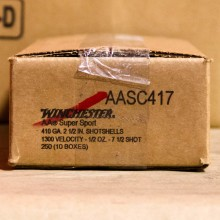 "410 GAUGE WINCHESTER AA SUPER SPORT SPORTING CLAYS 2 1/2"" 1/2 OZ. #7.5 SHOT (25 ROUNDS)"
