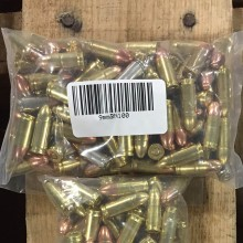 9MM MIXED BRASS AND NICKLE PLATED (100 ROUNDS)