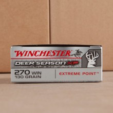 270 WIN WINCHESTER DEER SEASON XP 130 GRAIN EXTREME POINT (20 ROUNDS)