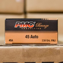 45 ACP PMC 230 GRAIN FMJ (50 ROUNDS)
