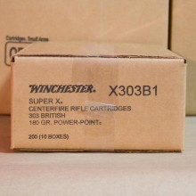 303 BRITISH WINCHESTER SUPER-X 180 GRAIN SP (20 ROUNDS)