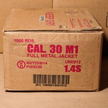 30 CARBINE ARMSCOR 110 GRAIN FULL METAL JACKET (1000 ROUNDS)