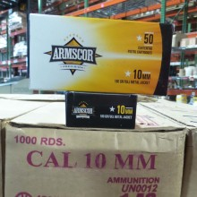 10MM AUTO ARMSCOR PRECISION 180 GRAIN FMJ (1000 ROUNDS)