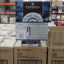 270 WIN FEDERAL POWER-SHOK 130 GRAIN SP (20 ROUNDS)
