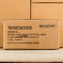 "12 GAUGE WINCHESTER SUPER-X XPERT 2-3/4"" 1 OZ. #7 STEEL SHOT (100 ROUNDS)"