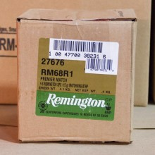 6.8MM SPC REMINGTON PREMIER MATCH 115 GRAIN HPBT (20 ROUNDS)