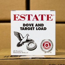 "12 GAUGE ESTATE DOVE AND TARGET 2-3/4"" #7.5 SHOT (25 SHELLS)"