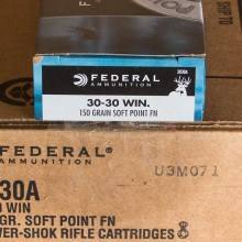30-30 FEDERAL POWER-SHOK 150 GRAIN SP (20 ROUNDS)