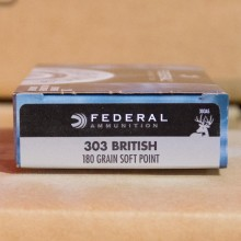 303 British - 180 Grain Speer Hot-Cor SP - Federal Power-Shok - 20 Rounds