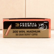 300 WIN MAG FEDERAL VITAL-SHOK 180 GRAIN TROPHY COPPER POLYMER TIP (20 ROUNDS)