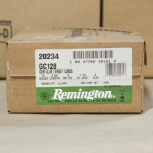 "12 GAUGE REMINGTON GUN CLUB 2-3/4"" #8 SHOT (250 SHELLS)"