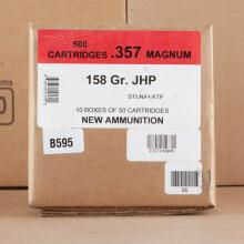 357 MAGNUM BLACK HILLS 158 GRAIN JHP (50 ROUNDS)