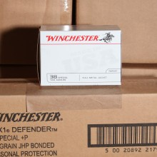 38 SPECIAL WINCHESTER 130 GRAIN FMJ (100 ROUNDS)