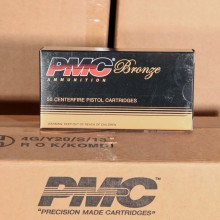 40 S&W PMC 165 GRAIN JHP (50 ROUNDS)