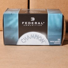 .22 LONG RIFLE FEDERAL CHAMPION 40 GRAIN LRN (500 ROUNDS)