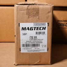 38 SPECIAL MAGTECH 158 GRAIN FMJ (1000 ROUNDS)