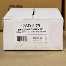 "12 GAUGE FIOCCHI TARGET SHOOTING DYNAMICS 2-3/4"" #7.5 SHOT (250 ROUNDS)"