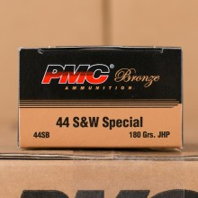 44 SPECIAL PMC 180 GRAIN JHP (25 ROUNDS)