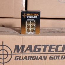.45 GAP MAGTECH GUARDIAN GOLD 230 GRAIN JHP (20 ROUNDS)