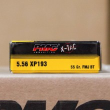5.56 NATO PMC M193 55 GRAIN FMJ (20 ROUNDS)