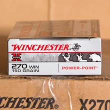 270 WIN WINCHESTER SUPER-X 150 GRAIN POWER POINT (20 ROUNDS)