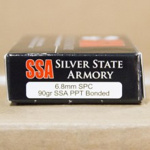 6.8 REMINGTON SPC SILVER STATE ARMORY 90 GRAIN PPT (20 ROUNDS)