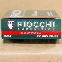 .30-06 SPRINGFIELD FIOCCHI SHOOTING DYNAMICS 150 GRAIN FMJ (20 ROUNDS)