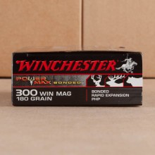 300 WIN MAG WINCHESTER POWER MAX BONDED 180 GRAIN PHP (20 ROUNDS)