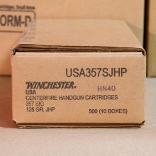 357 SIG WINCHESTER PERSONAL DEFENSE 125 GRAIN JHP (50 ROUNDS)