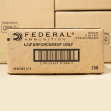 12 GAUGE FEDERAL TACTICAL 00 BUCKSHOT (250 ROUNDS)