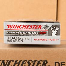 30-06 WINCHESTER DEER SEASON 150 GRAIN POLYMER TIP (20 ROUNDS)
