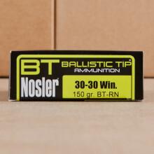 30-30 NOSLER 150 GRAIN BALLISTIC TIP (20 ROUNDS)