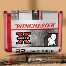 22 LR WINCHESTER SUPER-X 40 GRAIN POWER POINT HP (2000 ROUNDS)