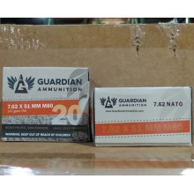 7.62x51MM GUARDIAN AMMUNITION 147 GRAIN FMJ M80 (640 ROUNDS)