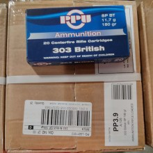303 BRITISH PRVI PARTIZAN 180 GRAIN SP (20 ROUNDS)