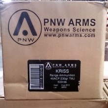 .45 ACP PNW ARMS KRISS VECTOR SUBSONIC 230 GRAIN TMJ (500 ROUNDS)